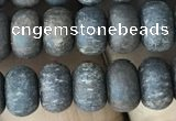 CRB5027 15.5 inches 4*6mm rondelle matte bronzite beads wholesale