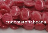 CRC10 16 inches 10mm coin rhodochrosite gemstone beads wholesale