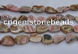 CRC1016 15.5 inches 12*16mm - 18*30mm freeform rhodochrosite beads