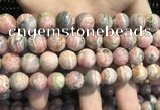CRC1154 15.5 inches 12mm round rhodochrosite gemstone beads