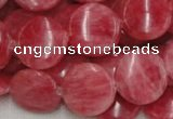 CRC12 16 inches 18mm coin rhodochrosite gemstone beads wholesale