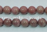 CRC203 16 inches 10mm round rhodochrosite gemstone beads wholesale