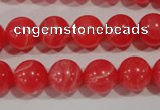 CRC504 15.5 inches 12mm round synthetic rhodochrosite beads