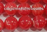 CRC507 15.5 inches 18mm round synthetic rhodochrosite beads