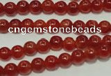 CRC551 15.5 inches 6mm round imitation rhodochrosite beads wholesale