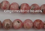 CRC756 15.5 inches 7mm round rhodochrosite beads wholesale