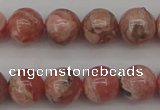 CRC757 15.5 inches 8mm round rhodochrosite beads wholesale
