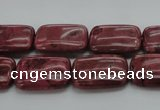 CRC824 15.5 inches 15*20mm rectangle Brazilian rhodochrosite beads
