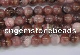 CRC912 15.5 inches 5mm round natural rhodochrosite beads