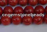 CRE312 15.5 inches 8mm round red jasper beads wholesale