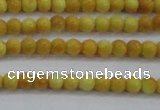 CRF436 15.5 inches 3mm round dyed rain flower stone beads wholesale