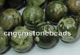 CRH102 15.5 inches 18mm round rhyolite beads wholesale