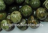 CRH112 15.5 inches 12mm round rhyolite beads wholesale