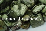 CRH18 15.5 inches 15*15mm square rhyolite beads wholesale