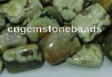 CRH26 15.5 inches 14*20mm rectangle rhyolite beads wholesale