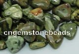 CRH31 15.5 inches 12*12mm triangle rhyolite beads wholesale