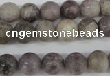 CRO191 15.5 inches 10mm round lilac jasper beads wholesale
