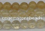 CRO255 15.5 inches 10mm round watermelon yellow beads wholesale