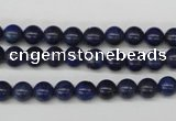 CRO46 15.5 inches 6mm round dyed lapis lazuli beads wholesale