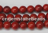 CRO96 15.5 inches 8mm round red jasper beads wholesale