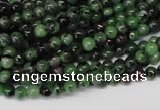 CRZ20 15.5 inches 4mm round ruby zoisite gemstone beads