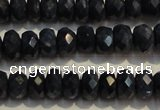 CRZ975 15.5 inches 3*5mm faceted rondelle A grade sapphire beads