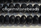 CRZ977 15.5 inches 5*7mm faceted rondelle A grade sapphire beads
