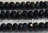 CRZ979 15.5 inches 3*5mm faceted rondelle A+ grade sapphire beads