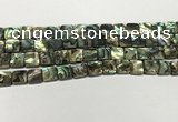 CSB4144 15.5 inches 10*10mm square abalone shell beads wholesale