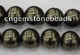 CSB622 15.5 inches 14mm whorl round shell pearl beads