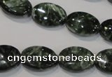 CSH133 15.5 inches 13*18mm oval natural seraphinite gemstone beads