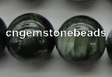 CSH205 15.5 inches 14mm round AA grade natural seraphinite beads