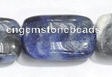 CSO07 A grade 15.5 inches 8*12mm rectangle sodalite beads