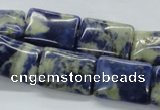 CSO242 15.5 inches 15*20mm rectangle sodalite gemstone beads