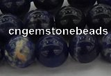 CSO635 15.5 inches 12mm round sodalite gemstone beads wholesale