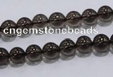 CSQ101 15.5 inches 8mm round grade AA natural smoky quartz beads