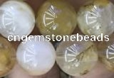 CSQ804 15.5 inches 12mm round scenic quartz beads wholesale