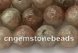 CSS722 15.5 inches 8mm round sunstone beads wholesale