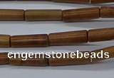 CTB331 15.5 inches 4*13mm tube Chinese picture jasper beads wholesale