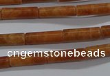 CTB336 15.5 inches 4*13mm tube tiger skin jasper beads wholesale