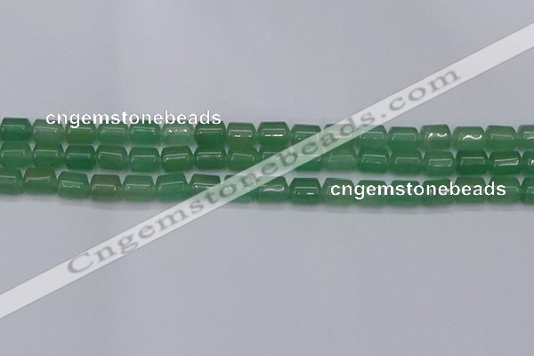 CTB706 15.5 inches 6*8mm tube green aventurine beads wholesale