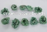 CTD1685 Top drilled 15*25mm - 30*35mm nuggets druzy agate beads