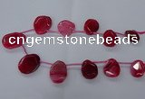CTD2567 15.5 inches 18*25mm - 30*40mm freeform agate beads
