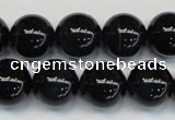 CTE1170 15.5 inches 14mm round AAA grade blue tiger eye beads