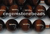 CTE1269 15.5 inches 8mm round AB+ grade red tiger eye beads