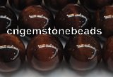 CTE1280 15.5 inches 14mm round A grade red tiger eye beads