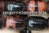 CTE2065 15.5 inches 8*12mm drum red tiger eye gemstone beads