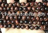 CTE2182 15.5 inches 8mm round yellow tiger eye gemstone beads