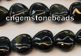CTE652 15.5 inches 20*20mm heart blue tiger eye beads wholesale