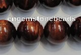 CTE89 15.5 inches 18mm round red tiger eye gemstone beads